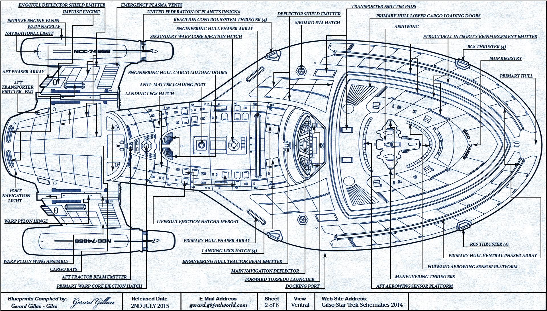 voyager schematics