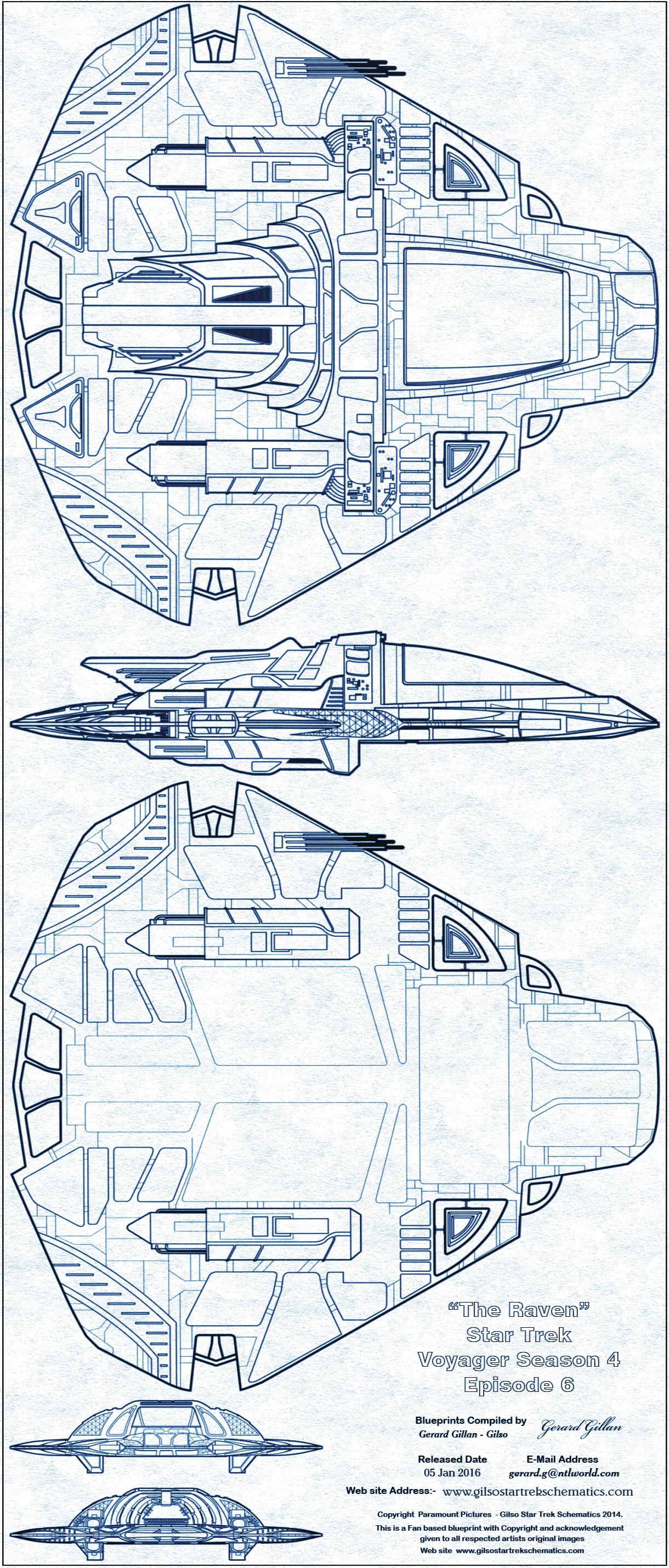Star trek blueprint quick reference gallery list 1 blueprint malvernweather Choice Image